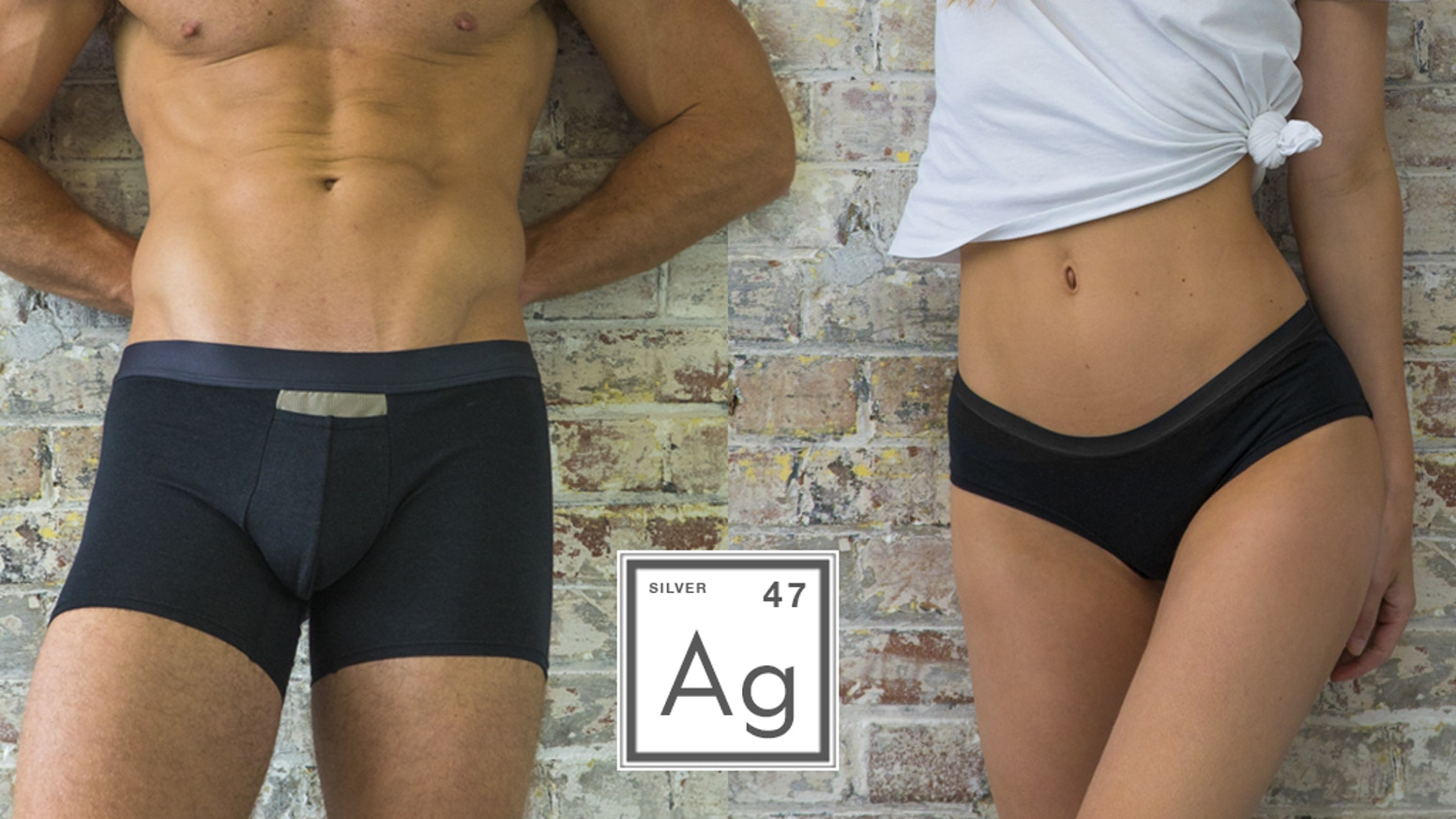 Self-cleaning underwear made from pure silver that keep your downstairs free from odour and bacteria.