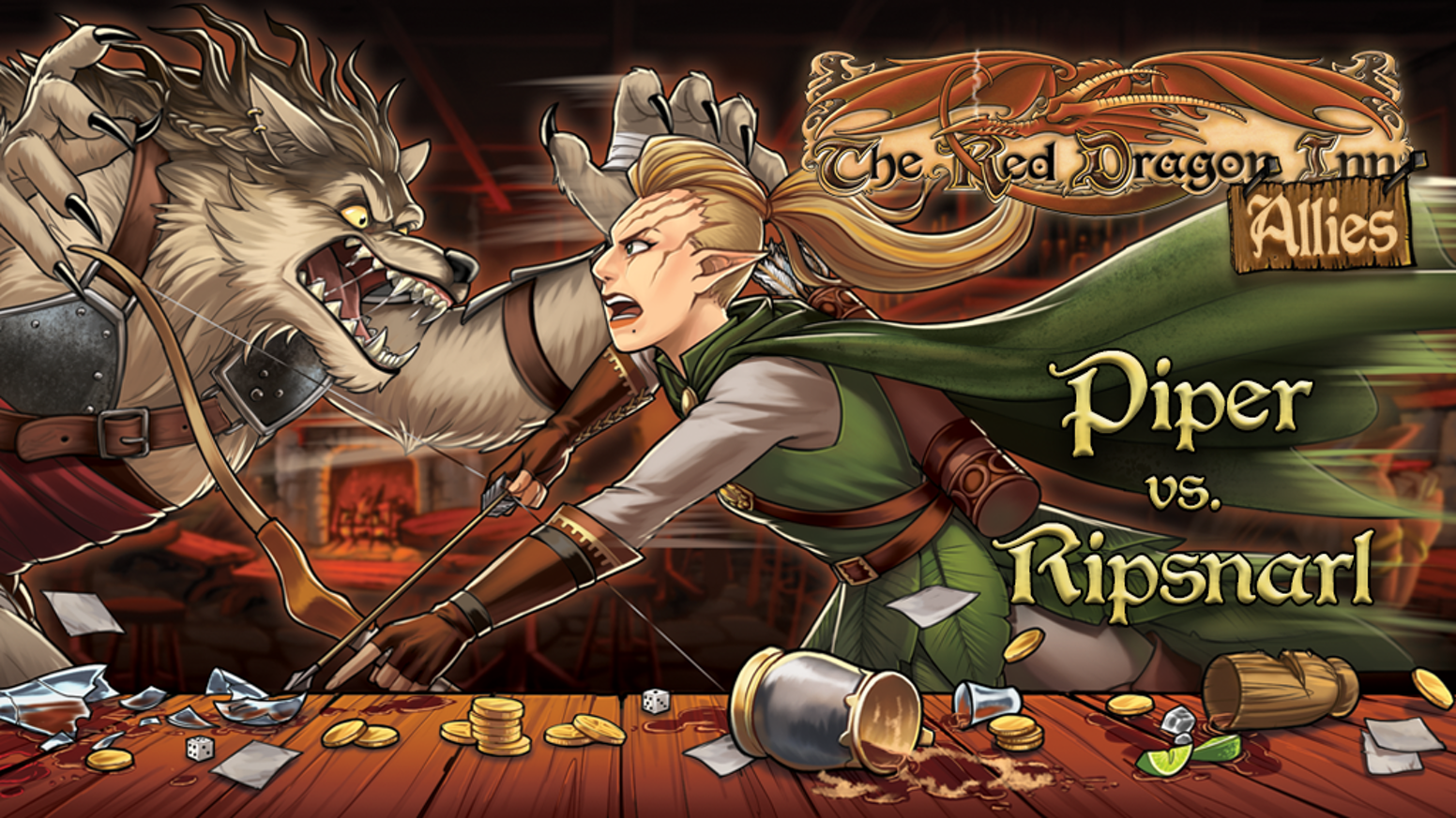 Two new mortal enemies join the growing roster of Red Dragon Inn characters!