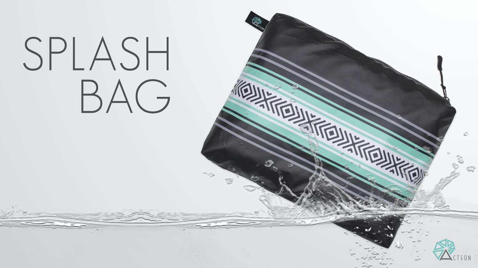 Multipurpose wet/dry bag designed to keep your wet items separate and your dry items dry.