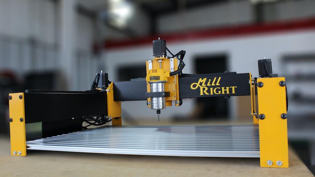 MillRight CNC Mega V Router and Plasma System project video thumbnail
