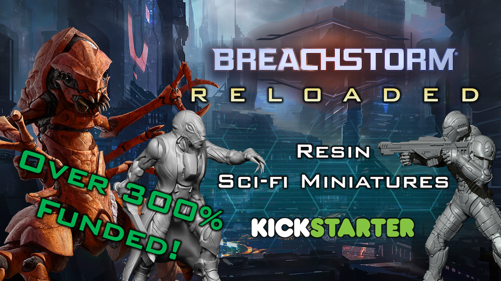Breachstorm: Reloaded - 30mm Sci-fi Miniatures project video thumbnail