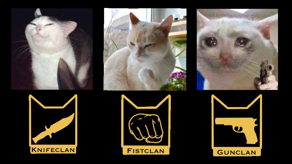 Warrior Cat Meme Clan Pins by Connie — Kickstarter