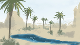 Oasis of the Elementals (for D&D 5E and Pathfinder 2E) thumbnail