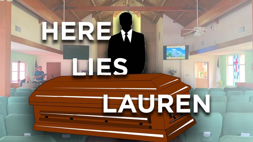 HERE LIES LAUREN