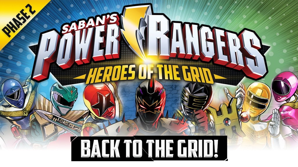 Miniature de la vidéo du projet Power Rangers: Heroes of the Grid Phase 2 - Back to the Grid