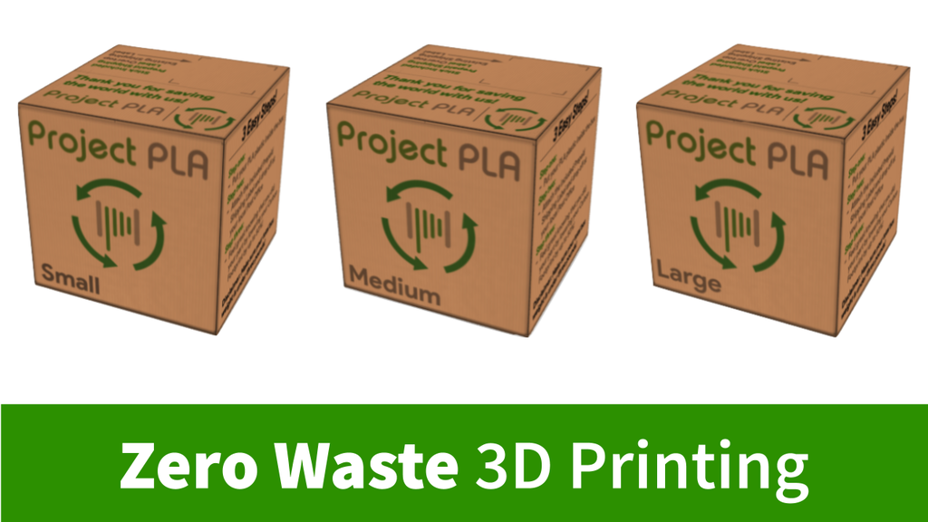 Project PLA | Recycle your 3D Printing Waste!