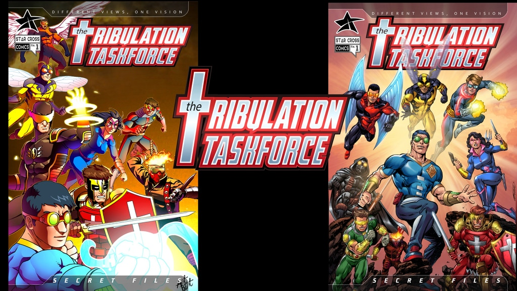 Project image for The Tribulation Taskforce: Secret Files #1