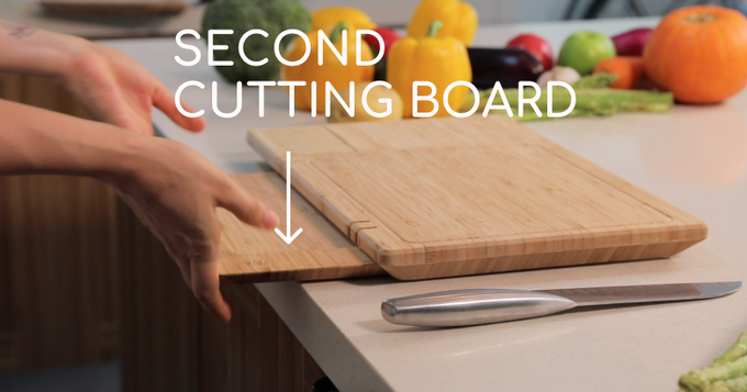 World S First Smart Cutting Board With
