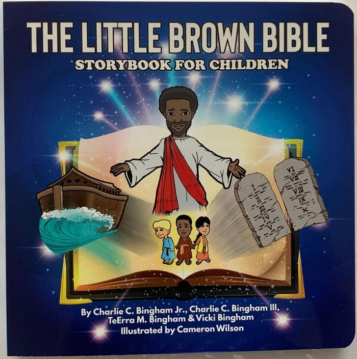 A children's storybook that accurately depicts Biblical people of color.