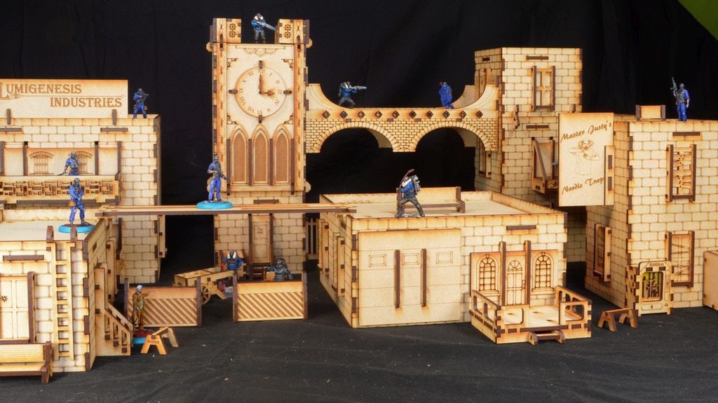 Project image for MDF 28mm Terrain for Miniatures gaming