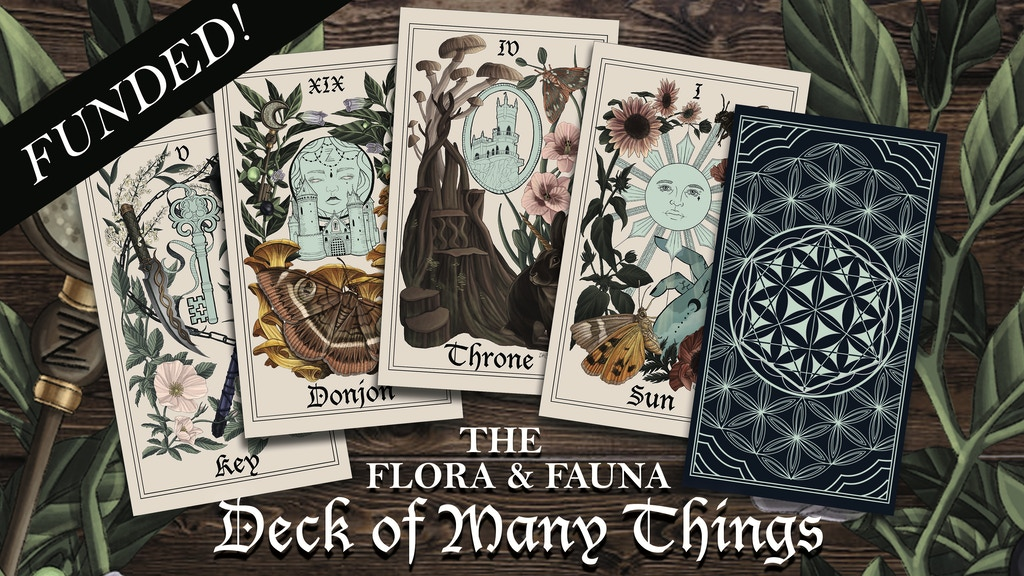 The Flora & Fauna Deck of Many Things project video thumbnail