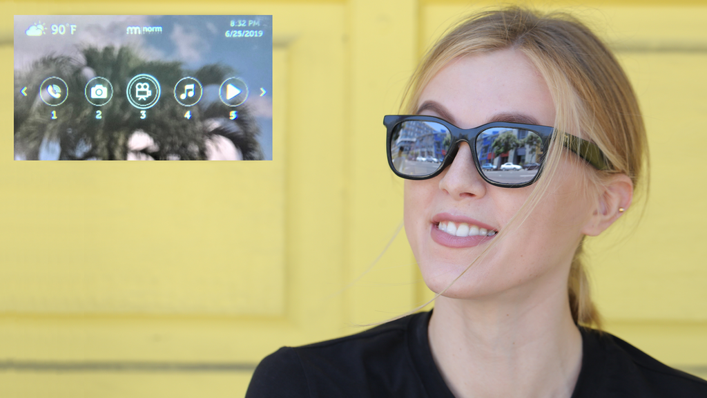 Norm Glasses: Lightweight, normal looking AR Smart Glasses project video thumbnail