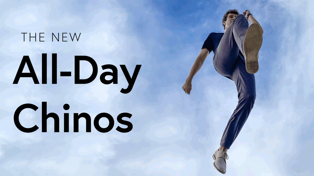 THE ALL-DAY CHINOS project video thumbnail