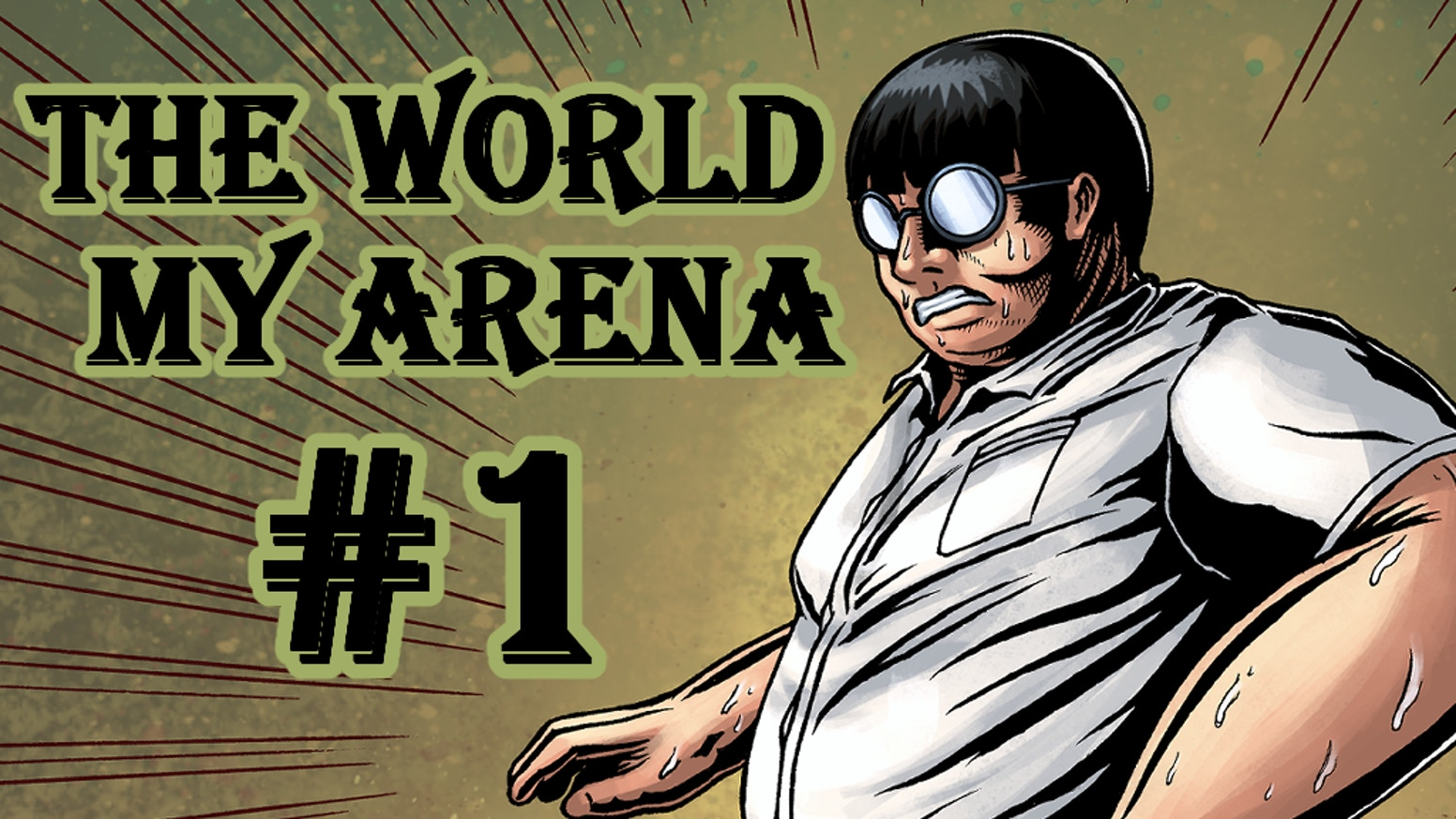 """Embark on a journey of self discovery through martial arts with the protagonist, Nathan, in """"THE WORLD, MY ARENA'."""