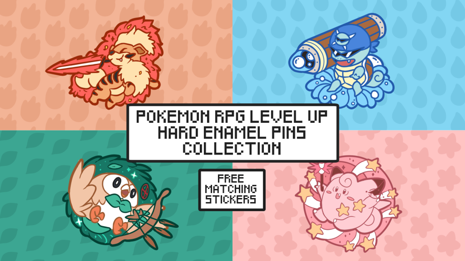 Please head over to our online store to purchase these pins!