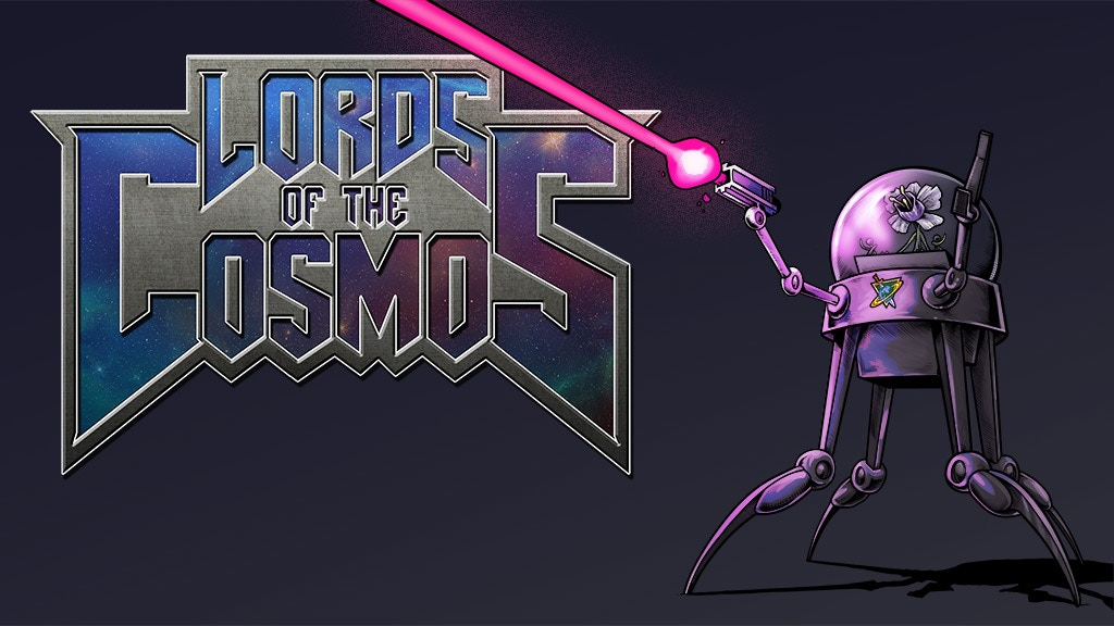 Lords Of The Cosmos Issue #3 - epic 80s inspired comic book! project video thumbnail