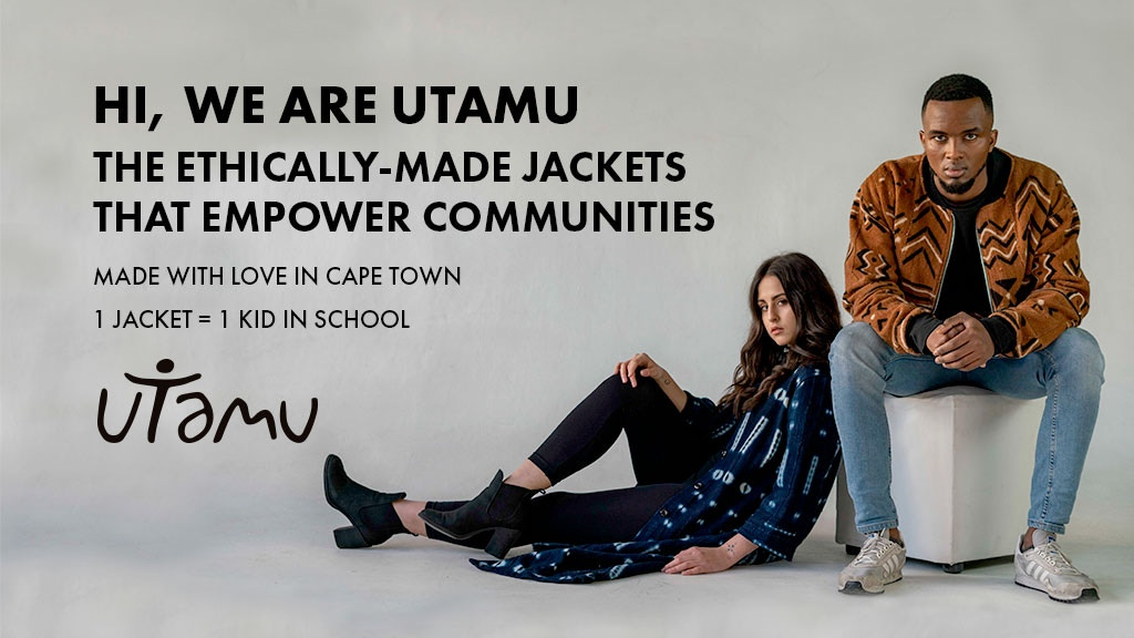 Utamu - Ethically-made jackets that empower communities project video thumbnail
