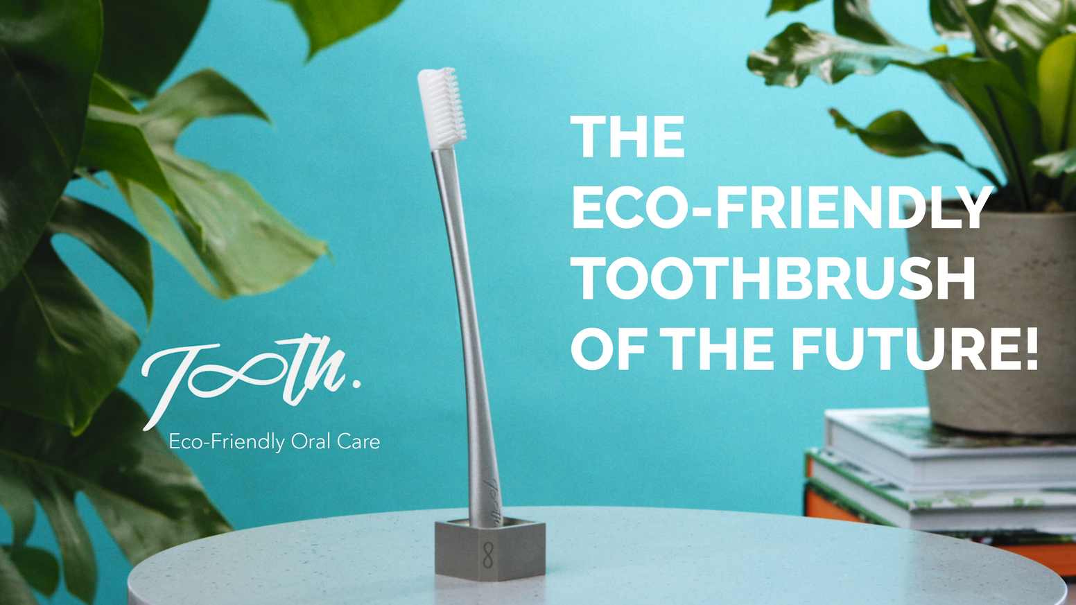 A toothbrush designed with you and the planet in mind.