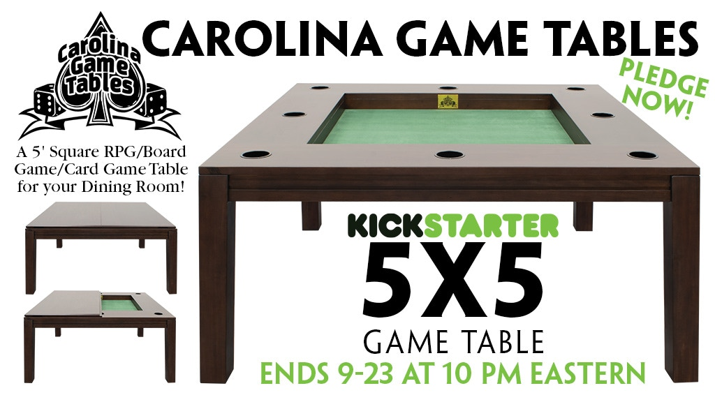 The 5x5 Game Table project video thumbnail