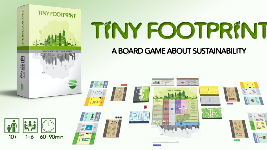 Tiny Footprint - a game about sustainability for 1-6 players project video thumbnail