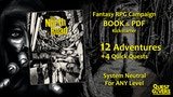 The North Road - A Fantasy RPG Campaign BOOK and PDF thumbnail