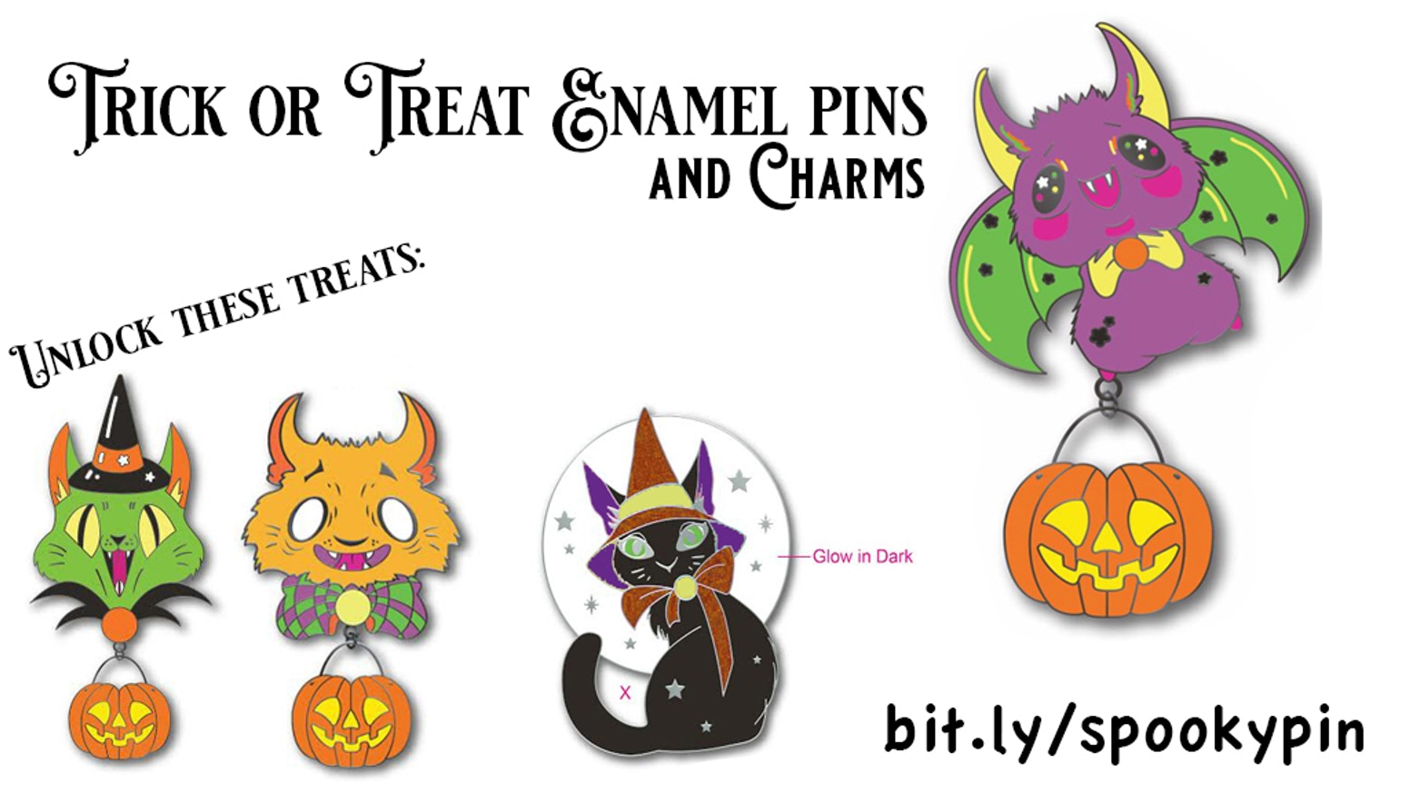 No lapel is safe from these terrifyingly cute pins!