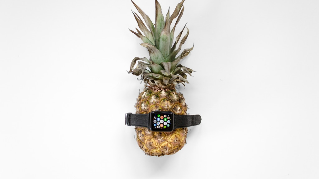Vegan Apple Watch Bands - made from Piñatex. project video thumbnail