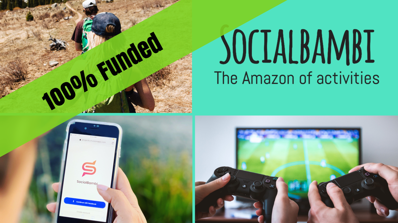 Socialbambi℠ - The platform for great meetups over activities