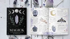 Magick: An illustrated guide to Witchcraft. by Crafting Witch