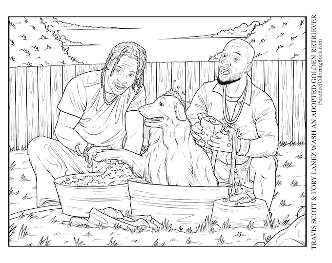 Pure Beef - A Wholesome Rap Coloring Book by H. M. J. ...