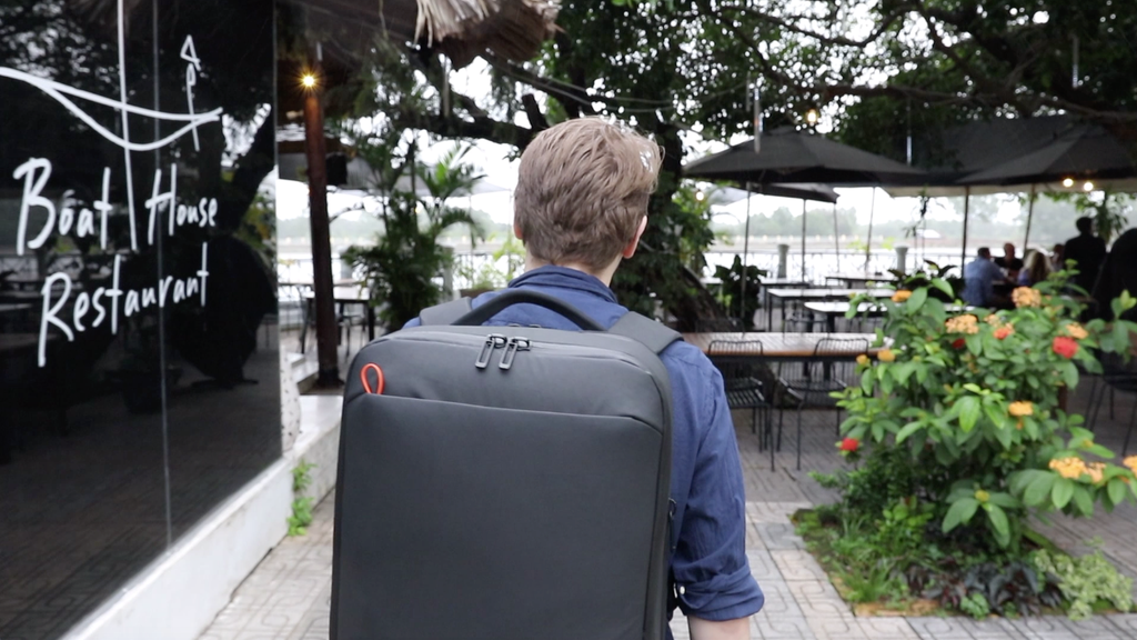 DUN TravelPack | the minimalist's backpack project video thumbnail