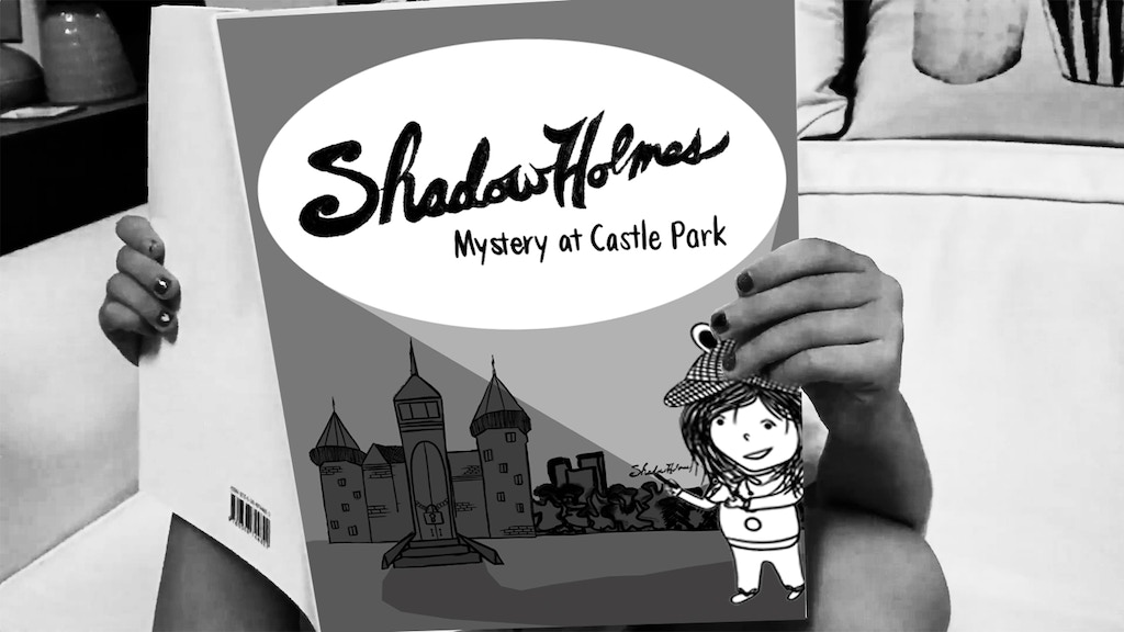 Shadow Holmes, Mystery at Castle Park, a children's book project video thumbnail