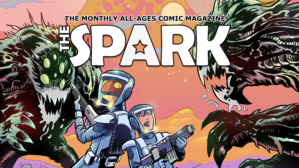 Project image for The Spark : The New All-Ages Monthly Comic Magazine