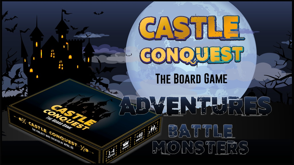 Project image for Castle Conquest - Board Game (Canceled)