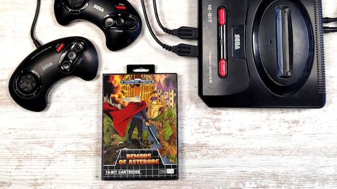 Demons Of Asteborg for the SEGA Mega Drive / Genesis