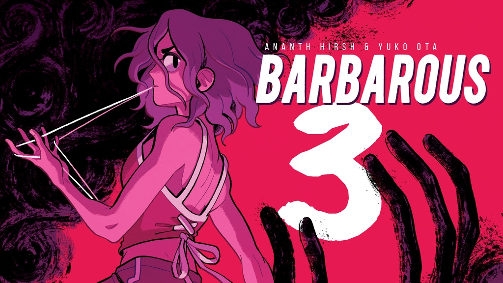 Project image for BARBAROUS CHAPTER 3 - LEEDS-SIZED EDITION