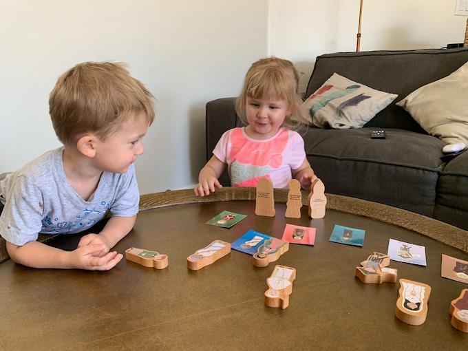 Saintly Heart: Catholic Wooden Saint Toys
