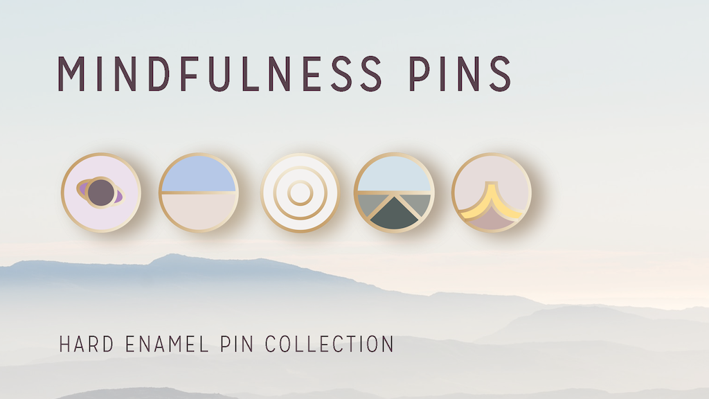 Mindfulness Pins: Practice Mindfulness Anywhere