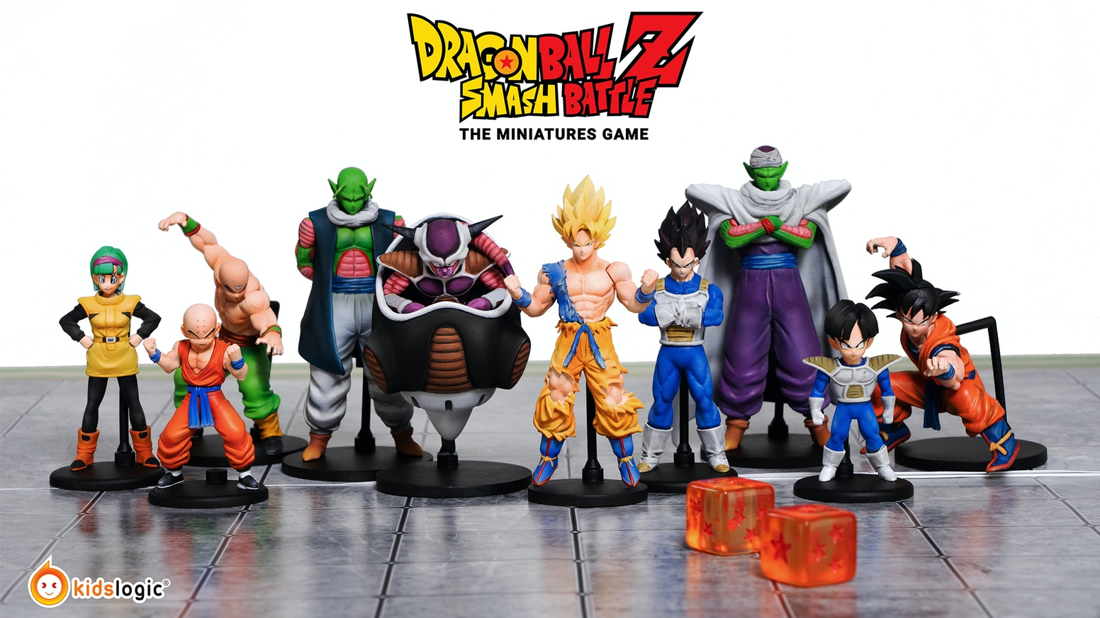 Dragon Ball Z Smash Battle The Miniatures Game By Kids