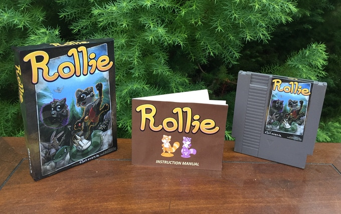 Rollie: A new game for the Classic Nintendo (NES)