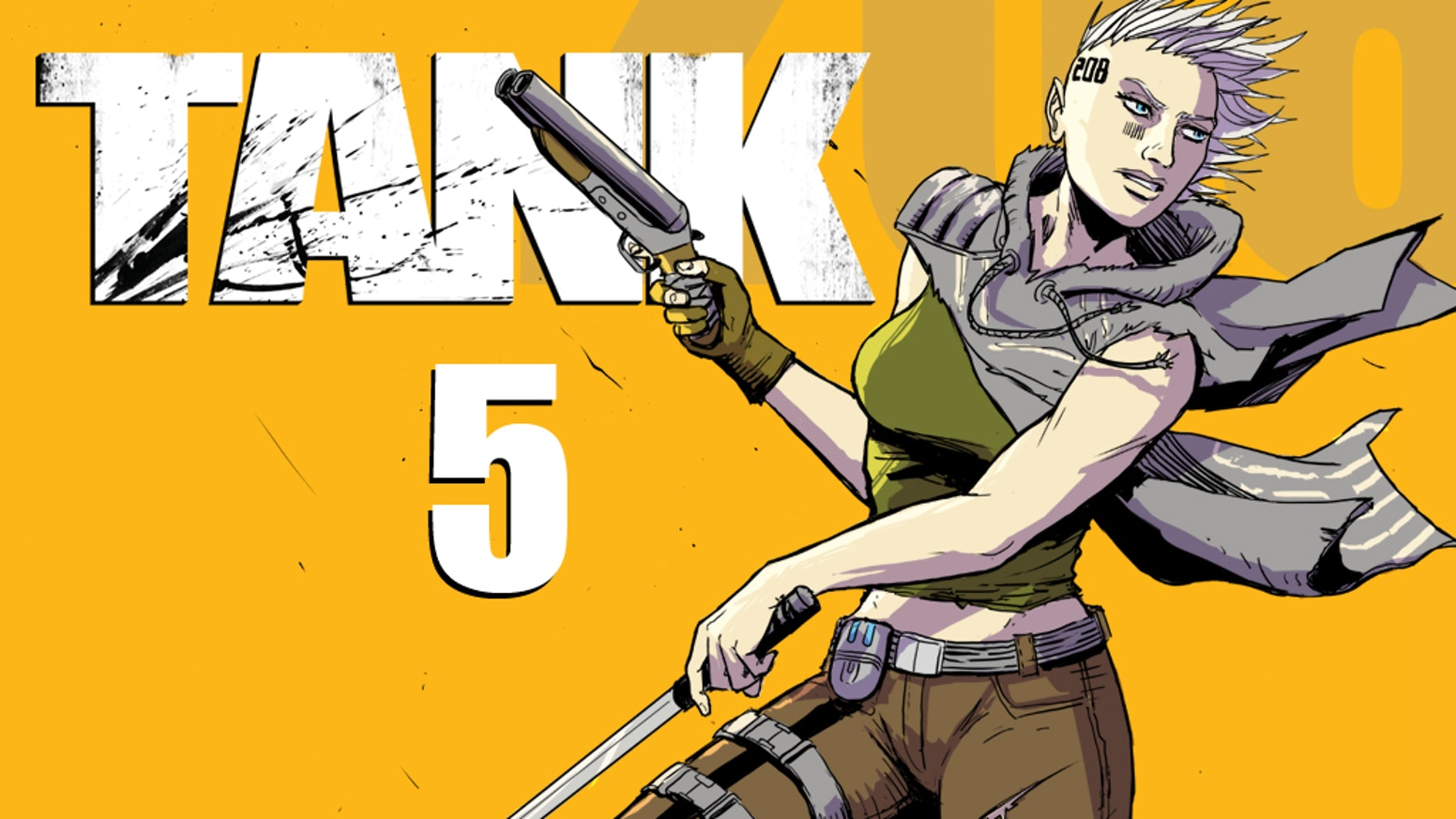 A post-apocalyptic action adventure comic book. (English / Deutsch)
