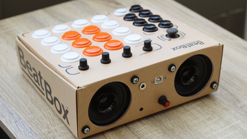 Beatbox by Rhythmo - DIY Cardboard MIDI Controller Kit project video thumbnail