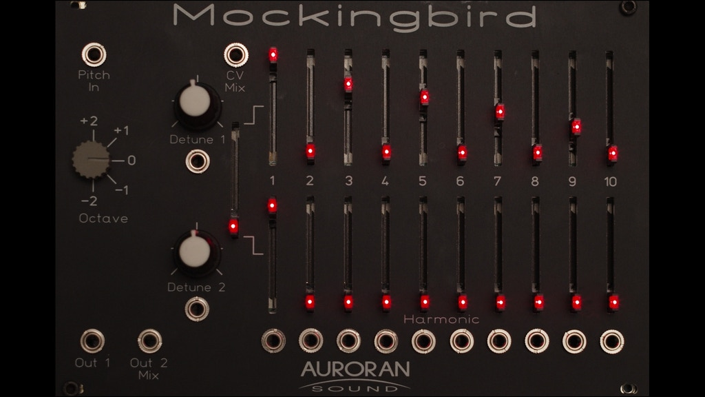 Mockingbird: A Eurorack Compatible Fourier Synthesis Engine
