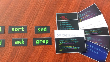 Linux command-line Data Science - Laptop Stickers & Magnets