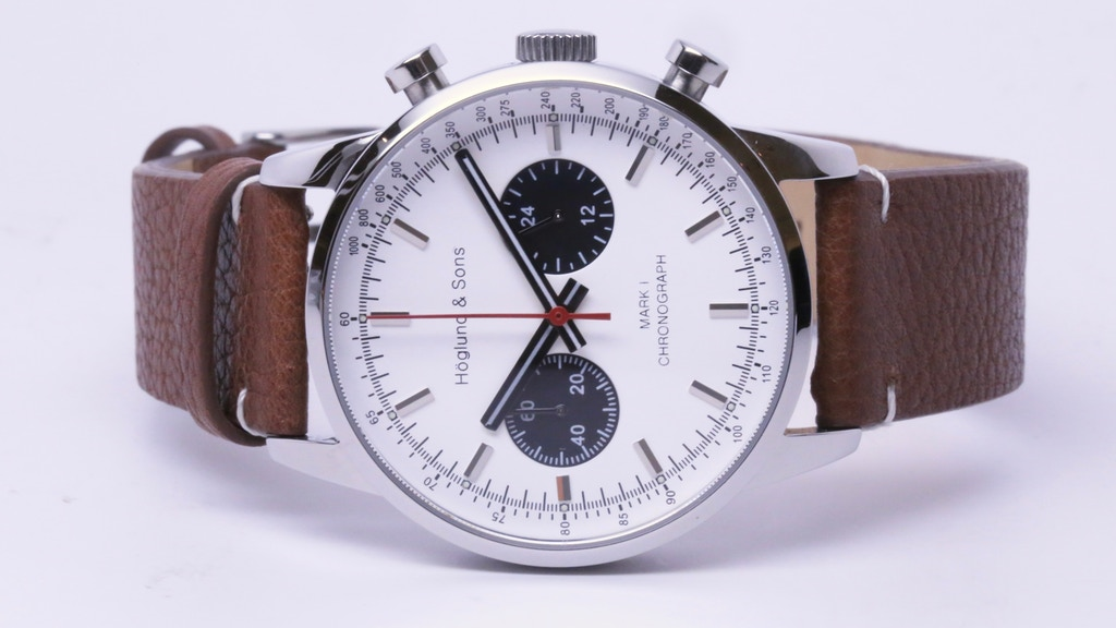 Höglund & Sons Mark I Chronograph Watch w/ Time Zone Scale project video thumbnail