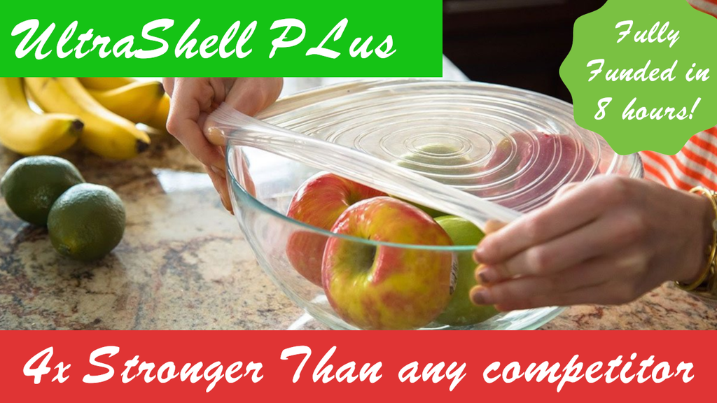 Ultrashell Plus - Reusable stretchy lids! project video thumbnail