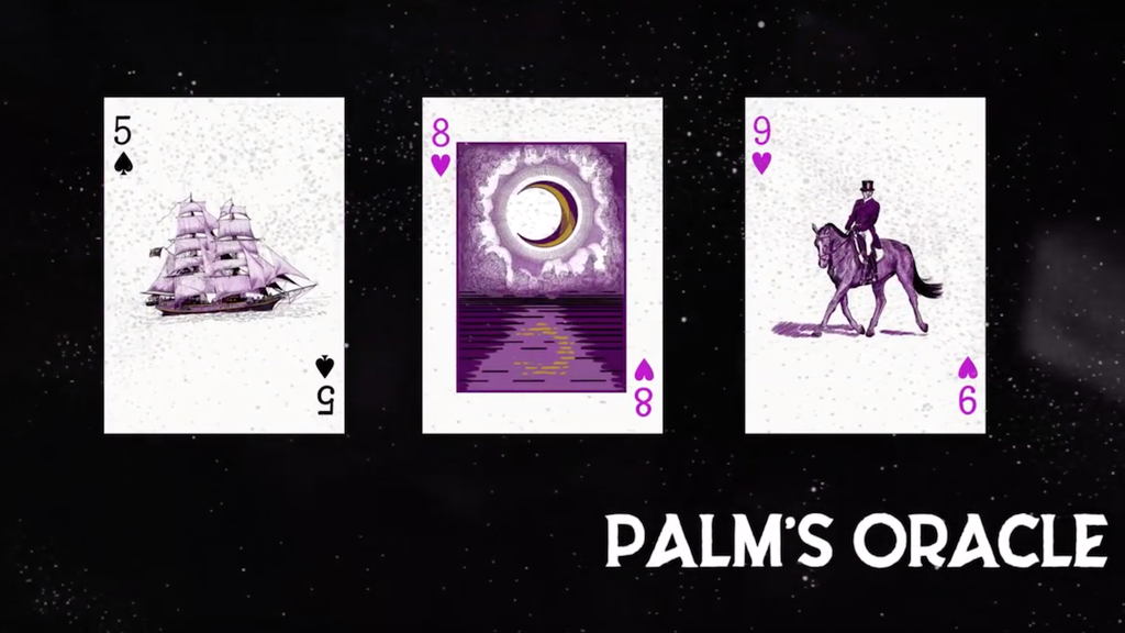 Palm's Oracle - Divination Cards