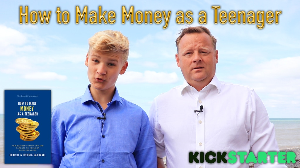 How to make Money as a Teenager - The Book for you project video thumbnail