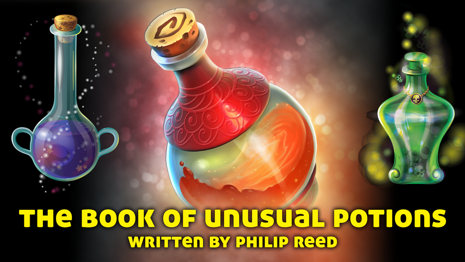 A systemless guide to potions for fantasy roleplaying games, written by Philip Reed. For use with many different games.