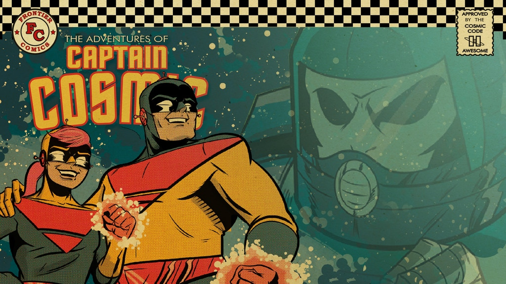 The Adventures of Captain Cosmic issue 3! project video thumbnail